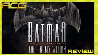 Batman: The Enemy Within - The Telltale Series Review