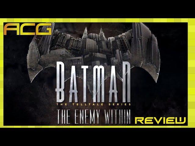 Batman: The Enemy Within — The Telltale Series (видео)