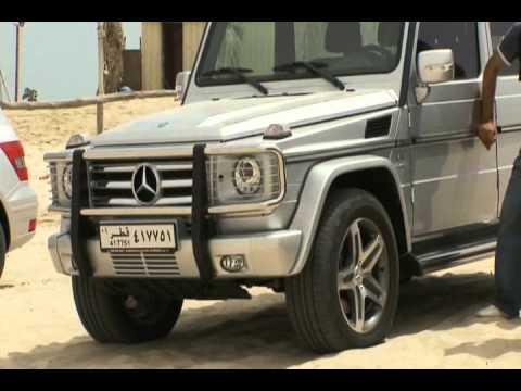Nbk automobiles mercedes benz qatar suv roadshow march for Mercedes benz qatar