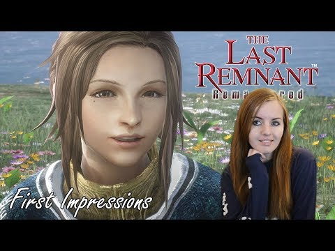First Impressions - The Last Remnant PS4 Remastered Gameplay