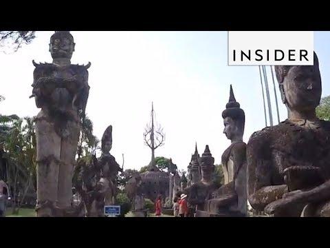 Travel to Laos' Buddha Park