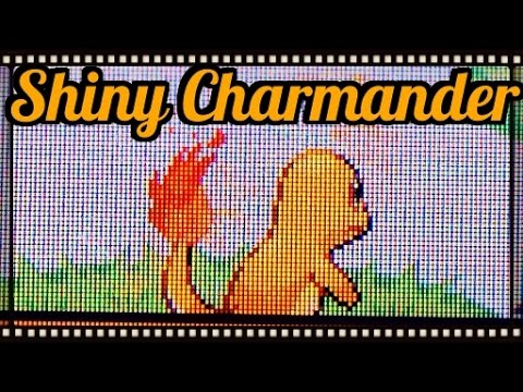 ISHC#3+GYMLQ#1) Shiny Charmander After About 100 SR's( Fire red)
