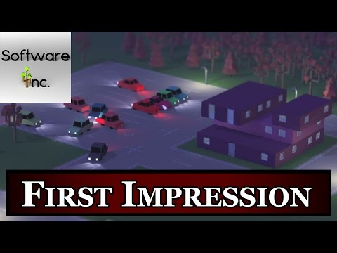 Software Inc First Impression - Software Inc Gameplay - Steam Review