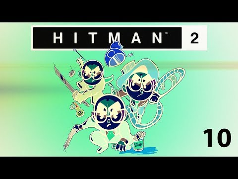 Northernlion and Mathas Play: Hitman 2 - Ghost Mode! [Episode 10]