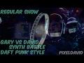 Regular Show Gary vs David Synth Battle Daft Punk Style