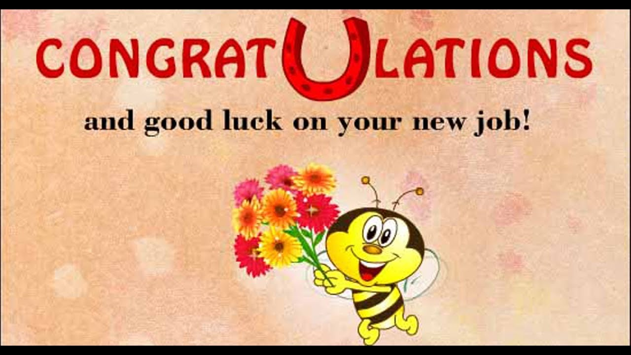best wishes for new job message and status congratulations message