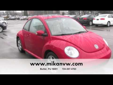 used vw tdi new beetle volkswagen cpo butler pittsburgh pa certified used cars for sale diesel. Black Bedroom Furniture Sets. Home Design Ideas