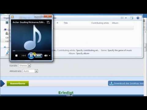 FLV zu MP3 kostenlos konvertieren