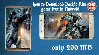 How to Download Pacific Rim game Android      (hindi)