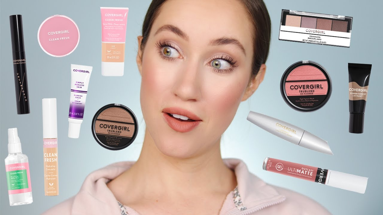 Trying TONS of NEW COVERGIRL Makeup 😱
