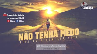 Culto Vespertino   Uma canção de vitória para o ano novo    Rev. Dilsilei Monteiro   IP Aliança