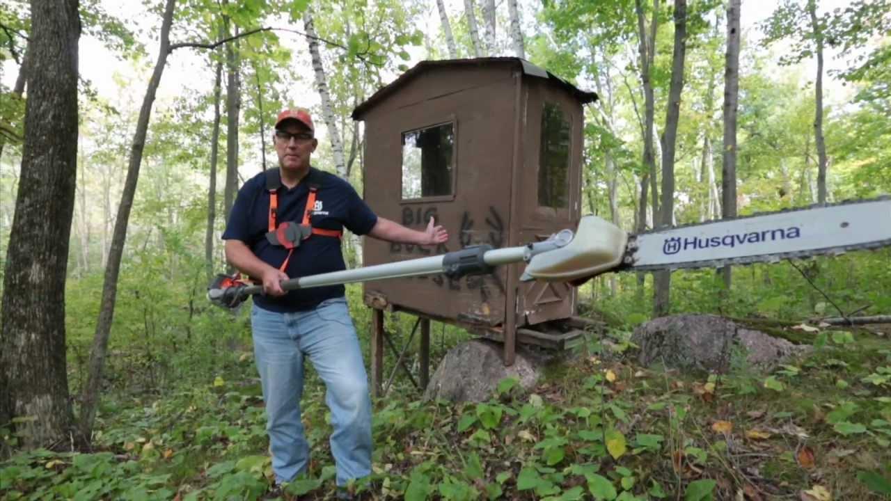 Cutting Shooting Lanes Deer Hunting Video Tips Youtube