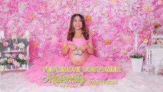 testimoni customer maternity photo shoot at magni photo