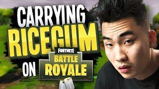 CARRYING RICEGUM on Fortnite Battle Royale thumbnail