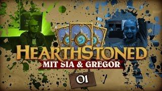 [1/4] Hearthstone: Heroes Of Warcraft mit Sia und Gregor | Hearthstoned | 29.09.2015