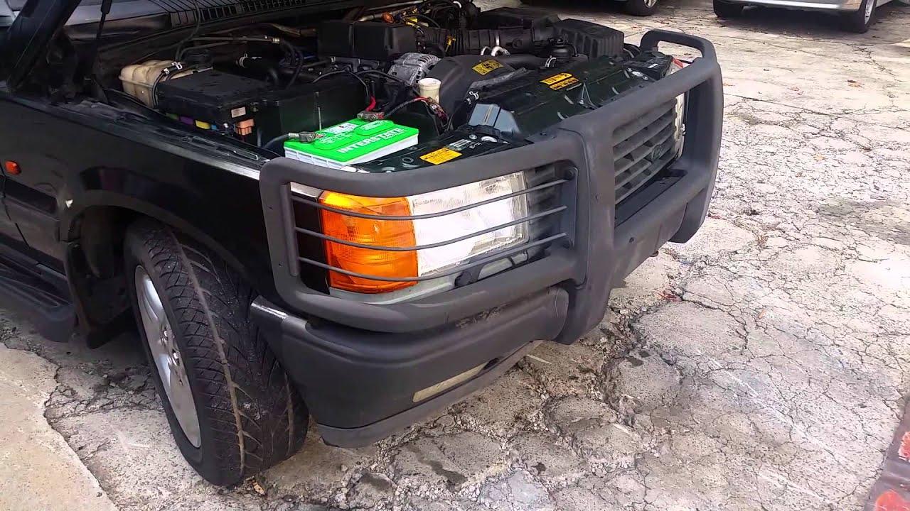 PARTING OUT 1995 P38 Land Rover Range Rover 4 0 SE GREEN TAN 140k