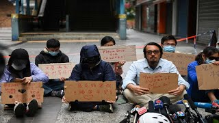 US faces backlash from China over legislation supporting Hong Kong protestors