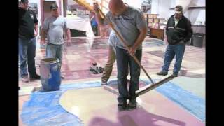 connectYoutube - Polished Concrete and Overlay Class  Extreme polishing