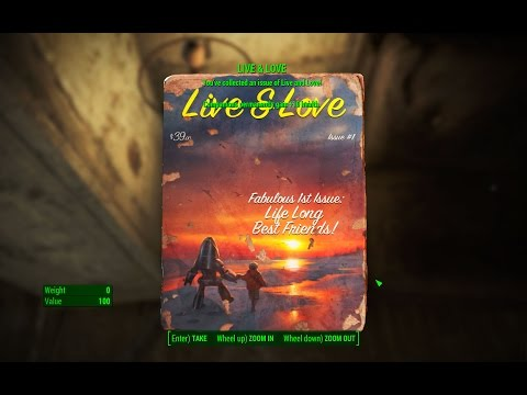 Live & Love Magazine - Faneuil Hall - Fallout 4