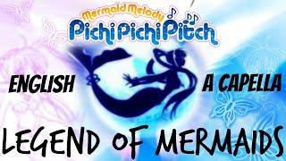 🐧Legend of Mermaids【ENGLISH A CAPELLA】Mermaid Melody Pichi Pichi Pitch 🐳