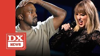 """Did Taylor Swift Shade Kanye West On Her """"Reputation"""" Album Cover?"""