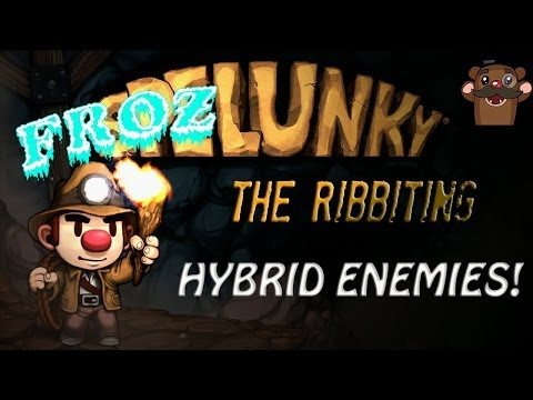 Hybrid Enemy Mod - Spelunky (INSANE)