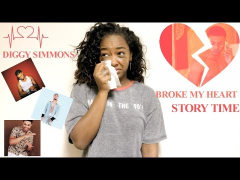 Diggy Simmons Broke My Heart ( Story Time)