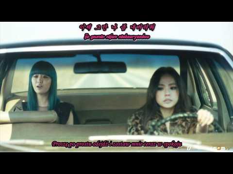 (Shining Subs) Song Ji Eun & Bang Yong Guk - Going Crazy [hangul + romanization + polish sub]