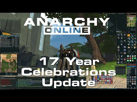 Anarchy Online 18.8 [ 17th Anniversary Update ]