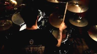 HATESPHERE - LINES CROSSED LIVES LOST (DRUM COVER)