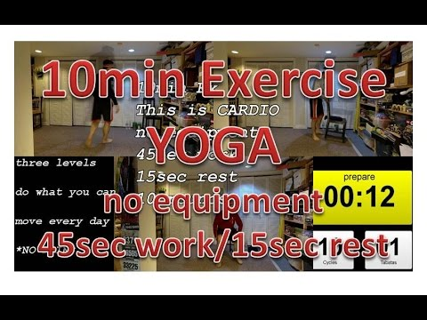 beginner fitness exercise workout 10 minutes yoga for healthy weightloss fit noob gym health yolo ne