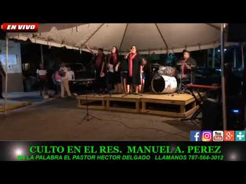 Culto desde Residencial Manuel A Perez - 25 Oct 2018 - Maranatha Radio Ministries