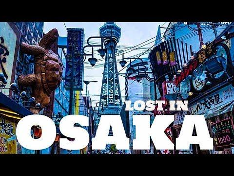 TOP 10 Osaka Attractions - Umeda Sky Building, Dotonbori, Osaka Castle, Shitennoji, Shinsekai - 2017