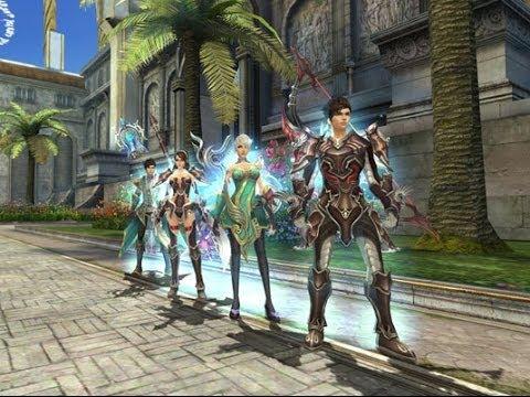 Обзор игры Reborn, MMORPG фэнтези
