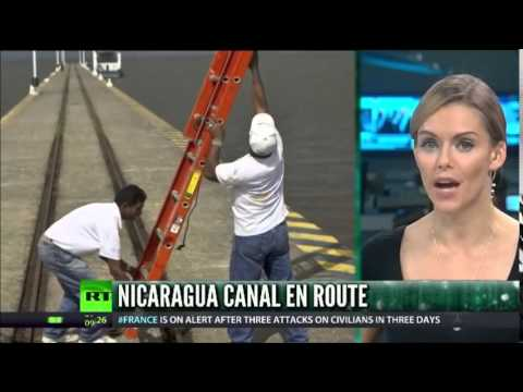 NICARAGUA Starts WORK On $50bn Canal BETWEEN Two OCEANS