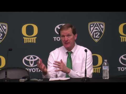 Oregon coach Dana Altman proud of team for staying in the game, staying in the moment
