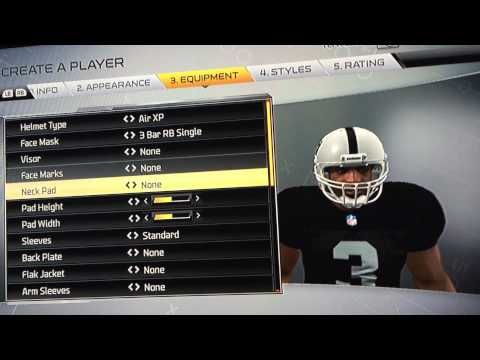 Madden 25: How to create JaMarcus Russell