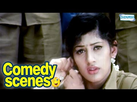Radhika gambles on road | Kannada Comedy Scenes | Anatharu Kannada Movie | Darshan