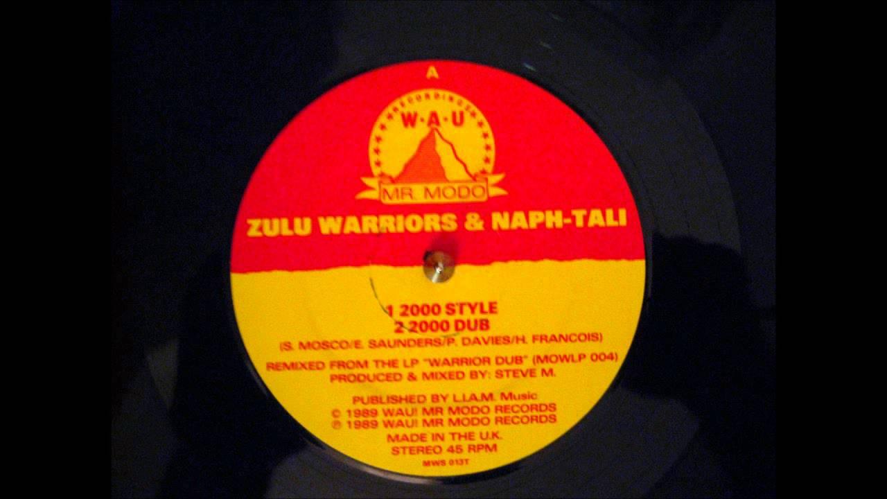 ZULU WARRIORS- NAPTHALI- 2000 STYLE