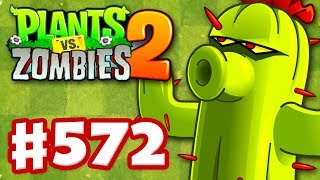 Plants vs. Zombies 2 - Gameplay Walkthrough Part 572 - Cactus Premium Seeds Epic Quest!