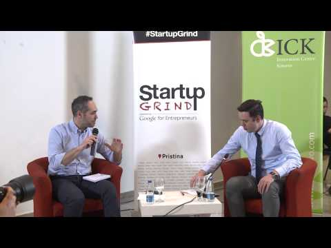 Startup Grind Pristina Event 6 hosts Lumir Abdixhiku Riinvest Institute