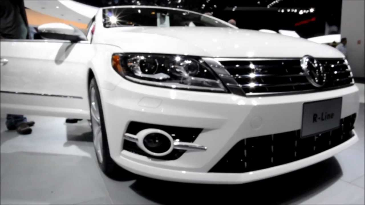 volkswagen cc r line 2013 detroit autoshow youtube. Black Bedroom Furniture Sets. Home Design Ideas