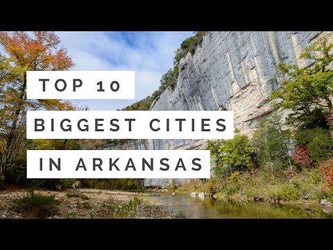 Top 10 Biggest Cities In Arkansas
