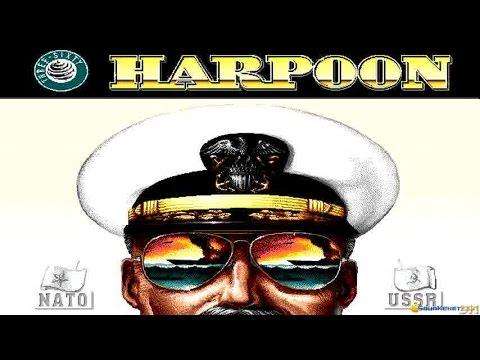 Harpoon gameplay (PC Game, 1989)