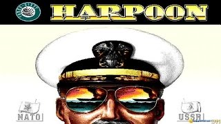Harpoon gameplay (PC Game, 1989)