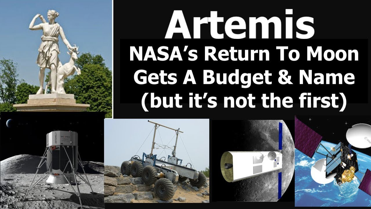 Will $1.6billion Let NASA's New Artemis Program Become Reality? | Scott Manley | YouTube | Published on Tuesday, May 14, 2019