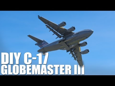 Homemade Remote Controlled C-17
