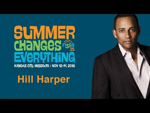 Hill Harper - Keynote at Summer Changes Everything™ 2018 ...