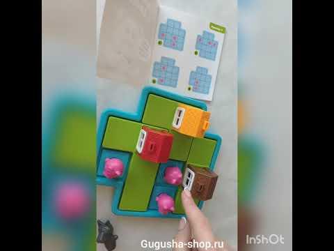 Игра для детей Хрюшки в домике