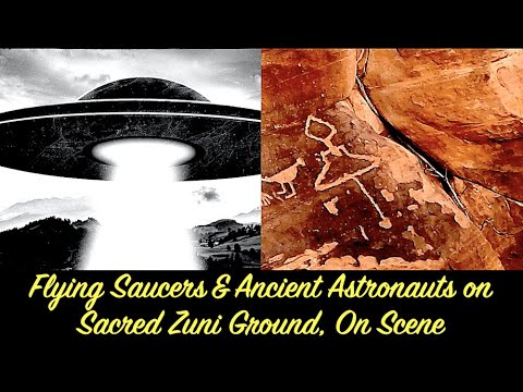 Flying Saucers & Ancient Astronauts on Sacred Zuni Ground, On Scene